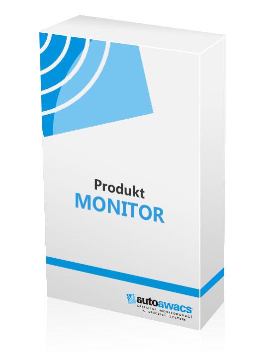 Produkt monitor pros sledování aut