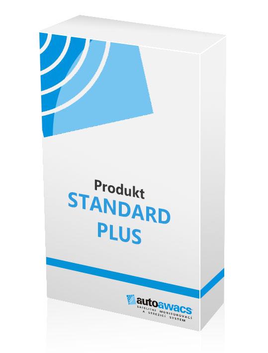 Produkt standard plus pro satelitní zabezpečení vozidel a aut